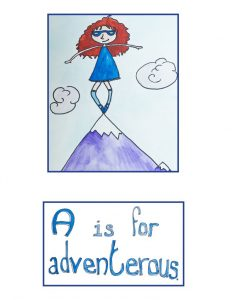 ABC Like A Girl by Ariel Shultz – A is for Adventerous